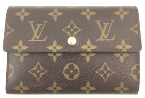 Louis Vuitton with insert Wide Large Long trifold Wallet Pocket organizer