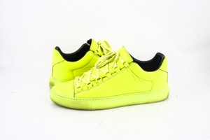 Balenciaga * Fluo Jaune Leather Sneaker Rubber Sole Arena Opaque Shoes