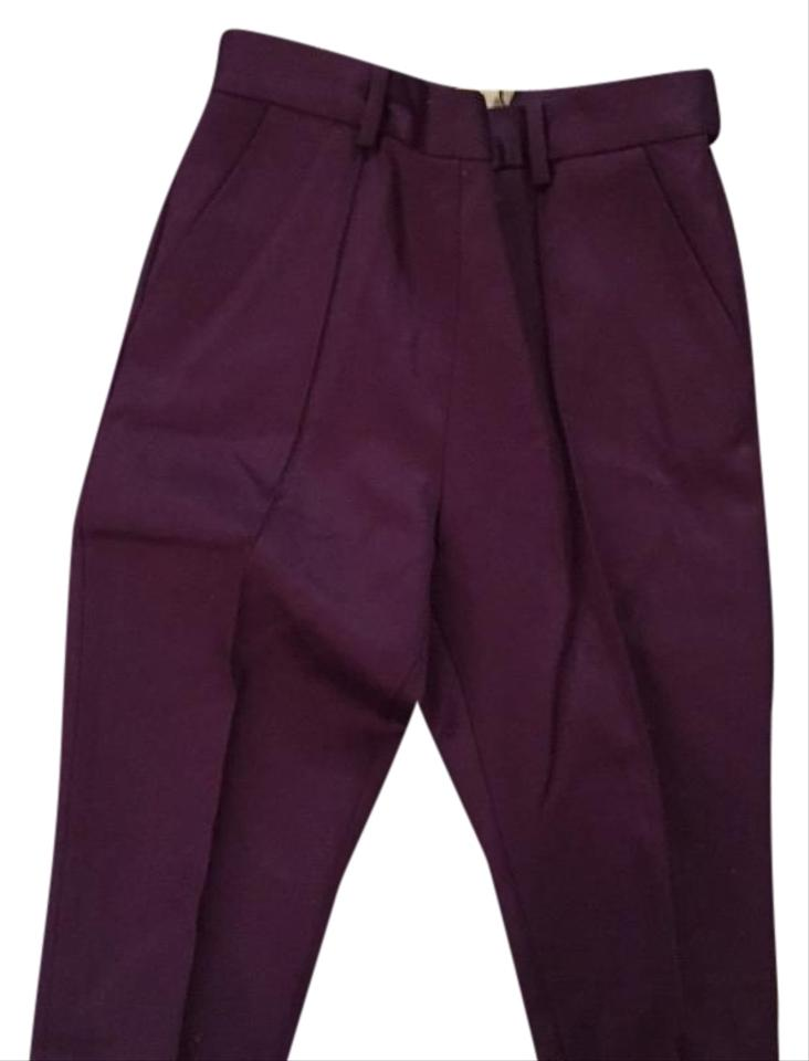 bfe10afe06e33 COS Royal Purple Wool Trousers Pants Size 2 (XS, 26) - Tradesy