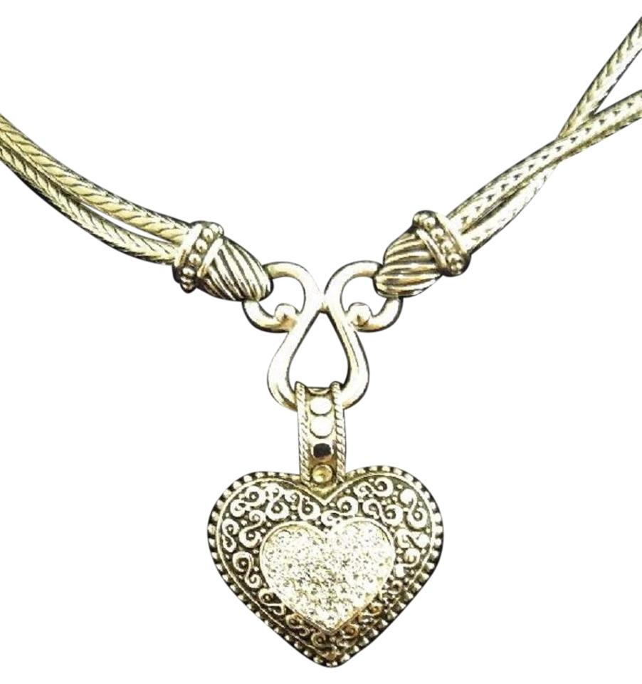 Lia sophia silver love dust necklace tradesy lia sophia lia sophia love dust necklace aloadofball
