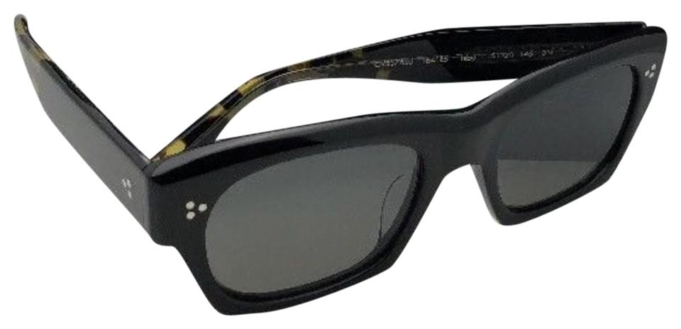 29951fe53f09 Oliver Peoples New OLIVER PEOPLES Sunglasses ISBA 5376SU 1641R5 51-20 Black  w  Grey ...