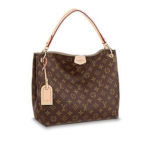Louis Vuitton Limited Edition Monogram Leather Neverfull Hobo Bag