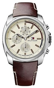Tommy Hilfiger Tommy Hilfiger Male Dress Watch 1791079 Silver Analog