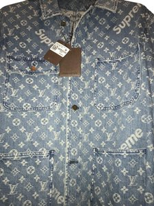 Louis Vuitton x Supreme Womens Jean Jacket