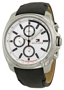 Tommy Hilfiger Tommy Hilfiger Male Dress Watch 1791080 Silver Analog