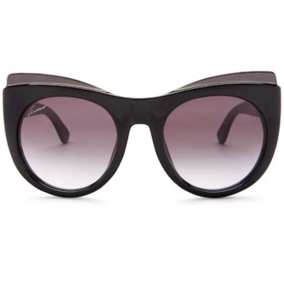 317ecdb61c Gucci Black Women s Cat Eye Acetate Frame Sunglasses - Tradesy