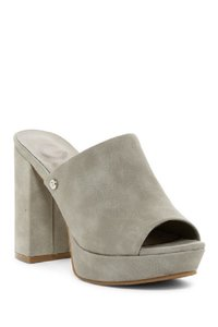 Guess grey Mules