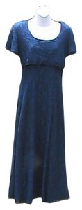 Blue Maxi Dress by Jady California Lace