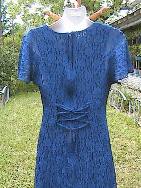 Blue Maxi Dress by Jady California Lace Image 5