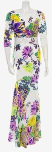 Floral Pattern Maxi Dress by Roberto Cavalli