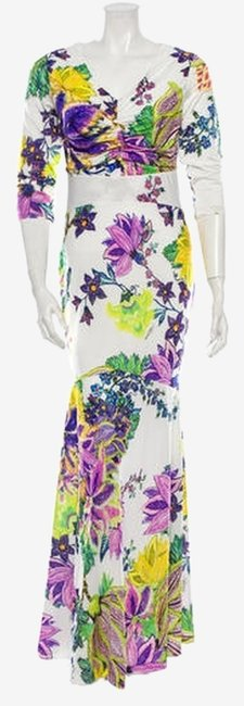 Preload https://img-static.tradesy.com/item/2289252/roberto-cavalli-floral-pattern-with-long-casual-maxi-dress-size-4-s-0-0-650-650.jpg