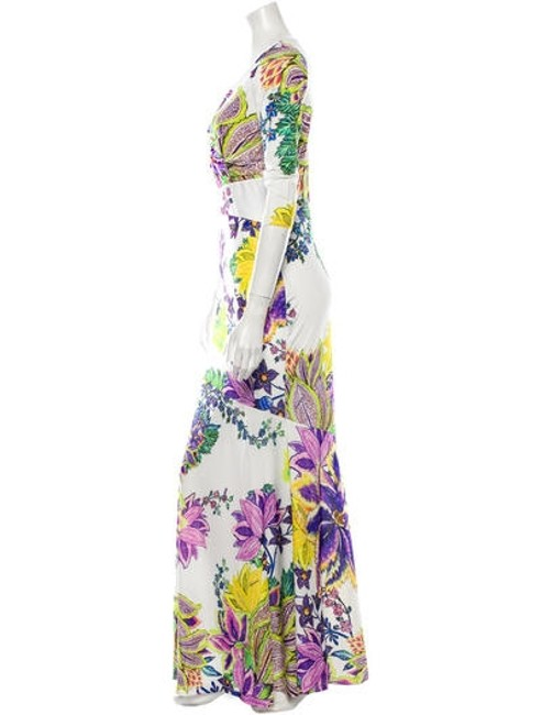 Floral Pattern Maxi Dress by Roberto Cavalli Image 2