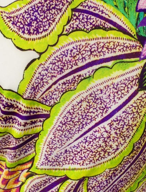 Floral Pattern Maxi Dress by Roberto Cavalli Image 3