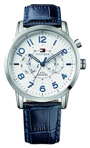 Tommy Hilfiger Tommy Hilfiger Male Dress Watch 1791085 Silver Analog