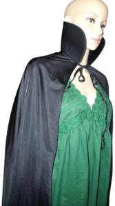 Frederick's of Hollywood Vampire Gothic Sexy Standing Collar Cape