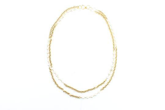 Preload https://img-static.tradesy.com/item/22893189/chanel-gold-double-pearl-cc-2way-223836-necklace-0-1-540-540.jpg