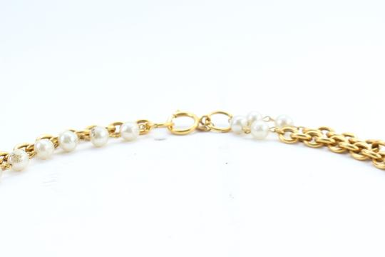 Chanel Gold Double Pearl CC 2way Necklace 223836 Image 2