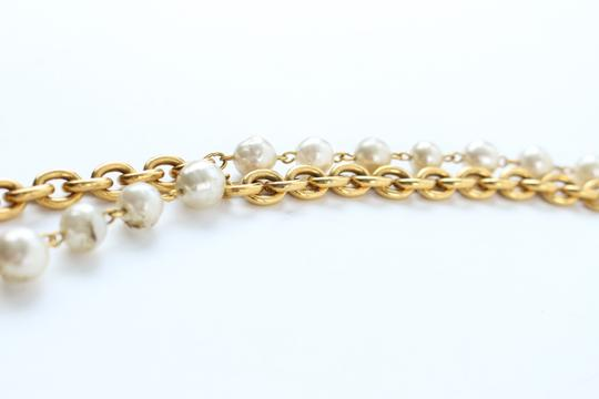 Chanel Gold Double Pearl CC 2way Necklace 223836 Image 9