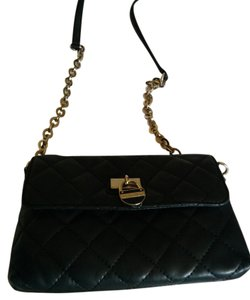 Calvin Klein Quilted Leather Cross Body Bag