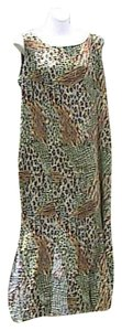 Printed Maxi Dress by R&K Originals Sleeveless Summer