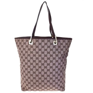 Gucci Made In Italy Tote in Pink Brown