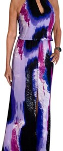 shades of purple Maxi Dress by Karina Grimaldi