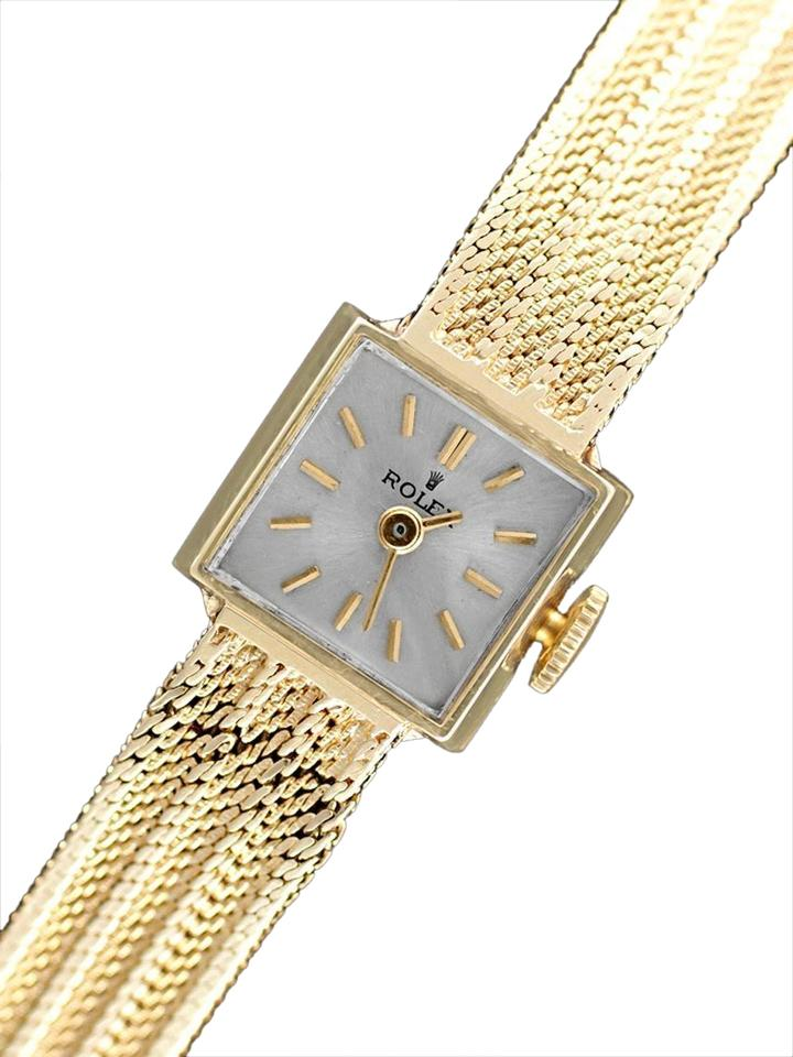 watches ladies watch white gold benrus pin jewel