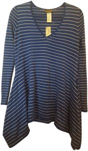 Tommy Bahama Hi Low Pinstripe Sweater