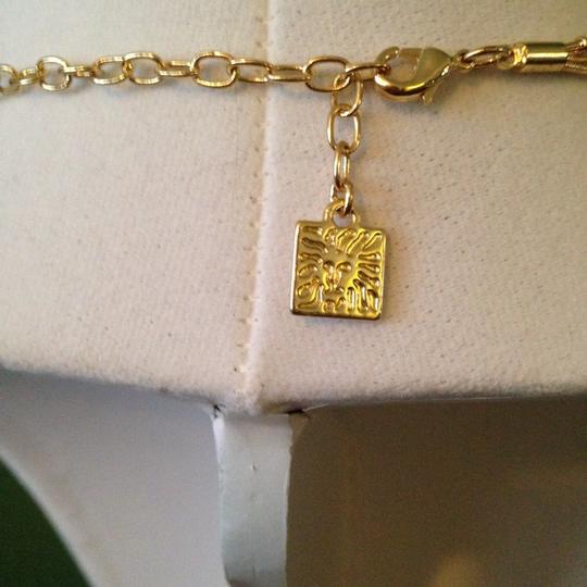 Anne Klein Anne Klein Faceted Shades Of Blue In Gold-Tone Necklace Only! Matching Pieces Sold Seperately.