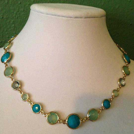 Anne Klein Anne Klein NWOT Faceted Shades Of Blue In Gold-Tone Bracelet Only! Matching Pieces Sold Seperately. Image 6