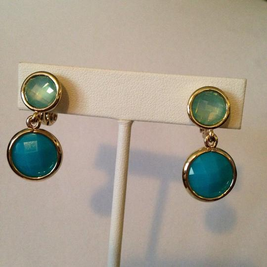 Anne Klein Anne Klein NWOT Faceted Shades Of Blue In Gold-Tone Bracelet Only! Matching Pieces Sold Seperately. Image 7