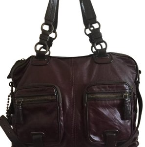 Coach Vintage Limited Edition Tote in Burgandy
