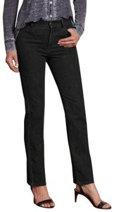 Soft Surroundings Triple Stretch Patented Classic New With Tags Straight Leg Jeans-Dark Rinse