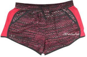 "Under Armour Under Armour 3"" Melon/Gray Printed Running Shorts Large"