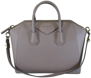 Givenchy Antigona Antigona Antigona Medium Antigona Satchel in Grey