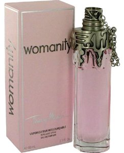 Thierry Mugler WOMANITY by T.MUGLER EDP REFILLABLE Spray 2.7oz/80 ml New.