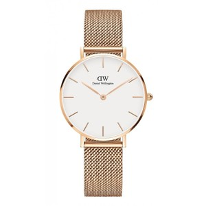 Daniel Wellington Daniel Wellington Rose Gold and White Dw00100163 Petite Melrose Watch