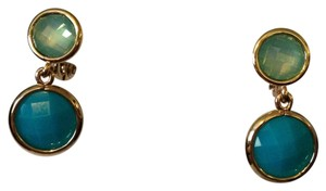 Anne Klein Anne Klein NWOT Faceted Shades Of Blue In Gold-Tone Earrings Only! Matching Pieces Sold Seperately.
