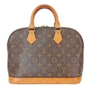 Louis Vuitton Lv Monogram Gucci Speedy Tote in brown