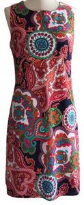Jude Connally short dress White/navy/orange/fuschia/lime/turq on Tradesy