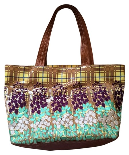 Preload https://item2.tradesy.com/images/plenty-by-tracy-reese-multicolor-leatherplastic-type-coating-tote-2289576-0-0.jpg?width=440&height=440