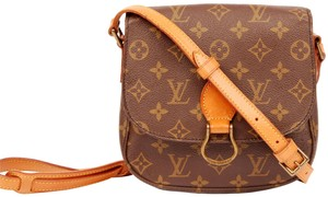 Louis Vuitton Saint Cloud Mm Saint Cloud Vintage Cross Body Bag