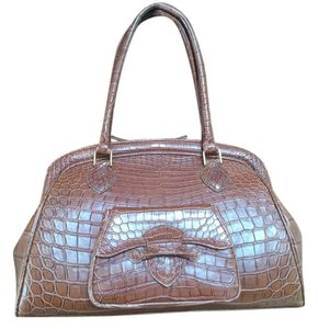 Phil Luan Grath Satchel in Medium brown