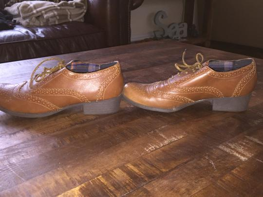 Bamboo Brown Leather Boots