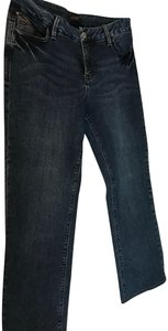 Christopher Blue Light Wash Medium Weight Casual Straight Leg Jeans-Light Wash