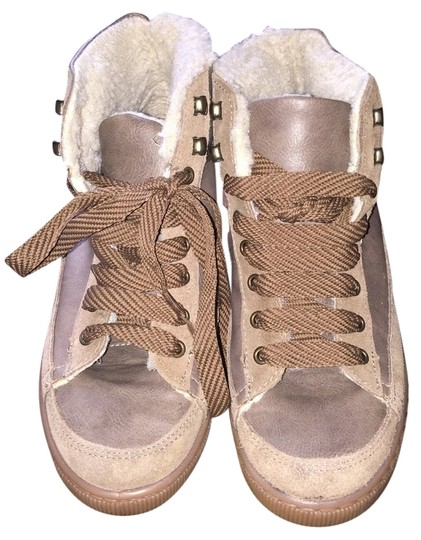 Mademoiselle Light Brown Leather Boots