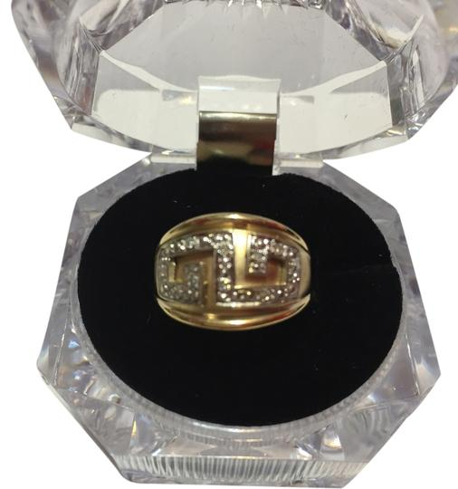 Michael Anthony Solid 10k 10kt Yellow Gold Dome Ring with Diamond Accents by Michael Anthony - Size 5.75 - 4.1 grams