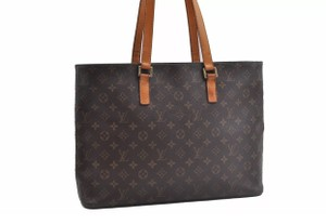 Louis Vuitton Tote in monogram canvas large tote shopper