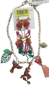 Betsey Johnson Betsey Johnson New Jungle Necklace and Earrings