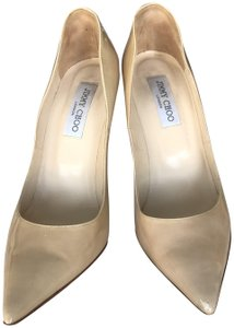 Jimmy Choo Limited Edition Nude Pumps